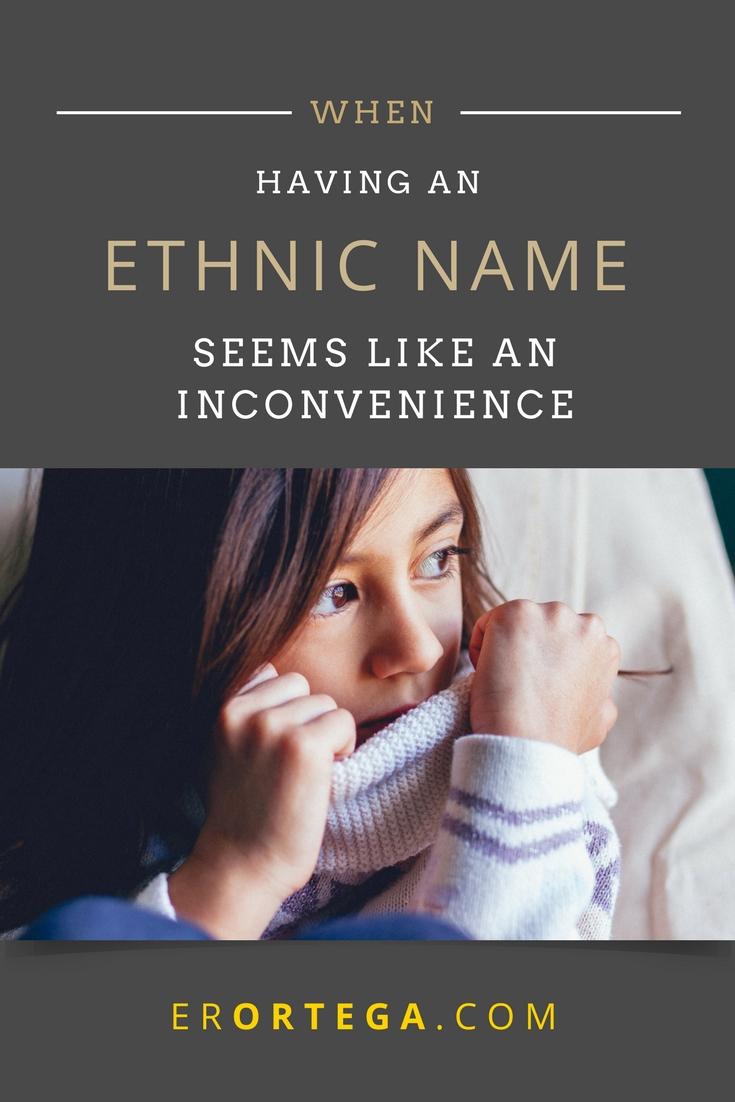 ethnic name